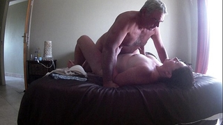 Fucking my wife on vacation -hidden livecam