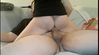 Amateur girlfriend in socks fuck hard on the daybed and acquire biggest creampie
