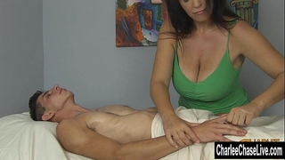 Charlee follow large tit pleased ending massage