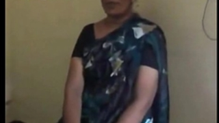 Indian desi teacher aunt stripping and engulfing shlong of her co-worker mms - indian sex vids