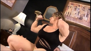 Eroticmusclevideos brandimae dominates and pegs impure old fellow