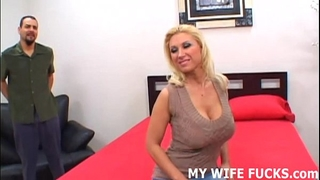 Watch your hawt cheating wife getting pounded by a pornstar