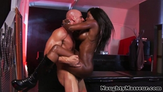 Kinky masseuse diamond jackson gazoo screwed
