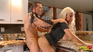 Blonde bridgette b. acquires titty screwed