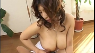 Busty hazuki can't live without large dongs