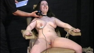Electro tortured bbw in harsh stool servitude and severe suffering of chunky serf