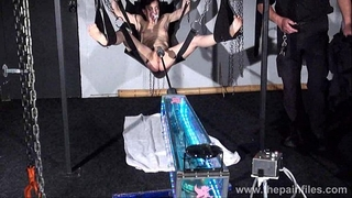 Fucking machine torment of elise graves in hardcore thraldom swing submission