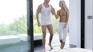 Nubile films - discharge your cum in didos hungry face hole