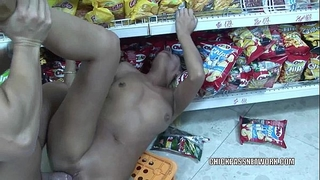 Mature whore priscilla is banging the store clerk