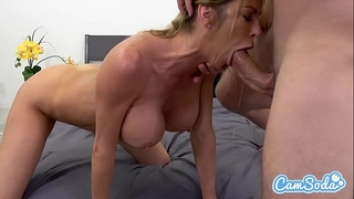 Alexis fawx large meatballs hawt hot milf fucking youthful ripped chap.