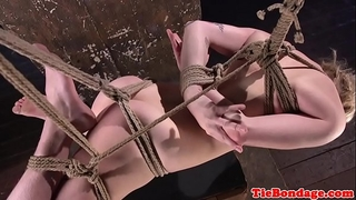 Sub gstring and hog bound for twat whipping
