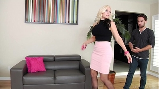 Alena croft copulates her youthful neighbor