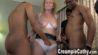 Young bbc creampie